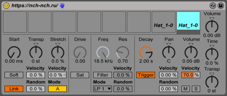 link impulse ableton live